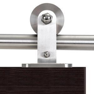 79 in. Stainless Steel Modern European Style Sliding Door Track and Hardware Set for Sale in Long Beach, CA
