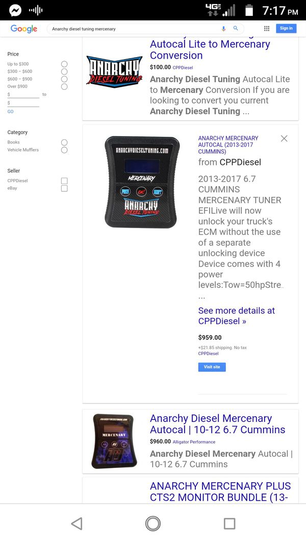 Anarchy diesel tuning 250 obo for Sale in Moncks Corner, SC - OfferUp