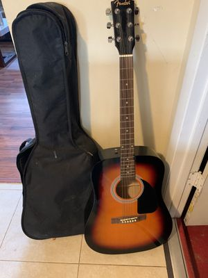 Fender acoustic guitar for Sale in Kissimmee, FL