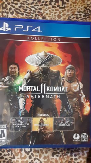 New mortal combat aftermath for Sale in Fresno, CA