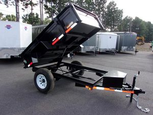 NEW 5x8 Dump Trailer WE FINANCE (Se habla español) for Sale in Houston, TX