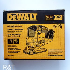 Dewalt xr jigsaw TOOL ONLY FIRM PRICE for Sale in Fullerton, CA