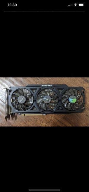 Gigabyte R9 280X 3GB Windforce Graphics Video Card For Gaming Computer Desktop PC for Sale in Orlando, FL