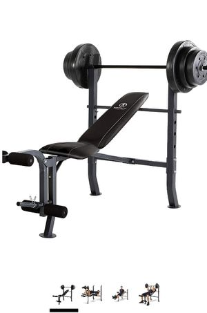 Marcy diamond elite bench and weights for Sale in Lucas, TX