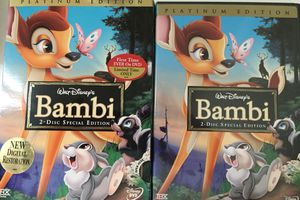 Disney's Bambi, 2 disk special edition DVD, pick up in San Marcos for Sale in San Marcos, CA