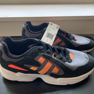 Adidas Yung-96 Chasm Core Black Solar Red Coral Shoes Men's Size 10.5 , 11 , 12 for Sale in Ithaca, NY