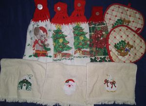 X-Mas Kitchen Towels for Sale in Fresno, CA