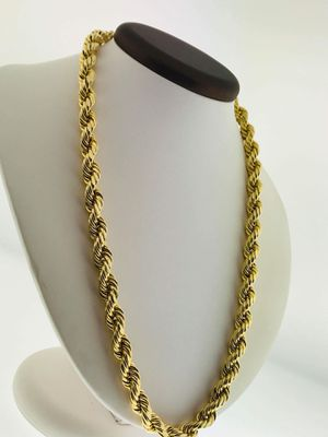 10k Gold ROPE Chain. 9mm x 22inch for Sale in Miami, FL