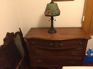 Antique dresser and mirror for Sale in Bellflower, CA
