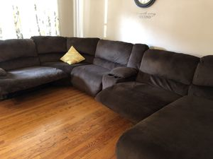 Sectional Sofa with recliners-Serious Inquires ONLY! Cash and pickup ONLY! for Sale in Reading, PA