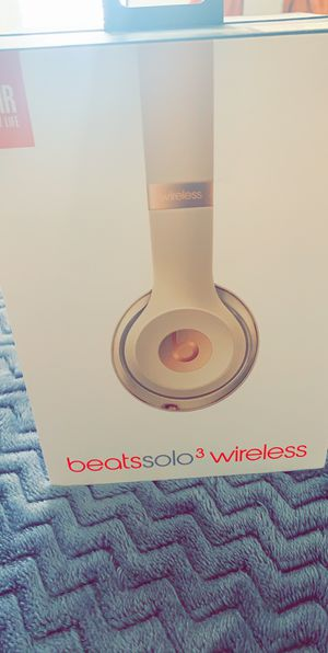 Beats solo 3 wireless for Sale in Federal Heights, CO