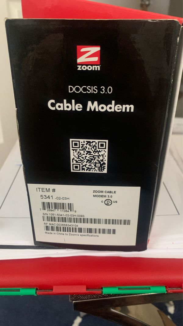 Zoom cable Moden
