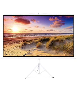 Best Choice Products 100in Portable 16:9 Projection Screen w/ 87x49in Foldable Stand, 1.3 Gain - White for Sale in Harrisburg, PA