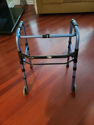 Folding Walker with wheels for Sale in Rancho Cucamonga, CA