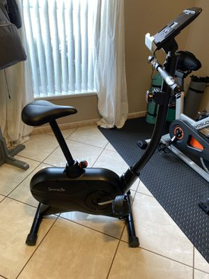 Serenelife slxb7.5 Upright Stationary Exercise Bike for Sale in BVL, FL