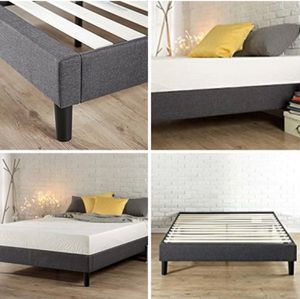 FULL QUEEN OR KING UPHOLSTERED Platform Bed Brand new in Box $100 Memory Foam Mattresses New in Box ($135FULL). *Queen $150*. KING $200 for Sale in Columbus, OH