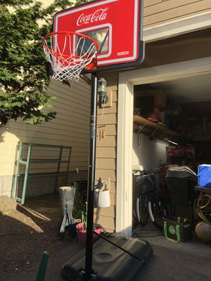 Coca Cola basketball hoop for Sale in Oregon City, OR