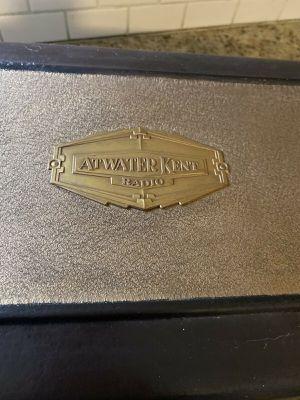 Vintage Atwater Kent model 42 Tube Radio Receiver Metal Coffin Case for Sale in Tampa, FL