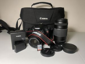 Canon T5 DSLR (Everything Needed) for Sale in Daly City, CA