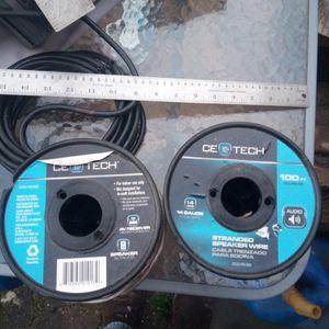 Speaker Wire 14 gauge 18 gauge for Sale in Montgomery Village, MD
