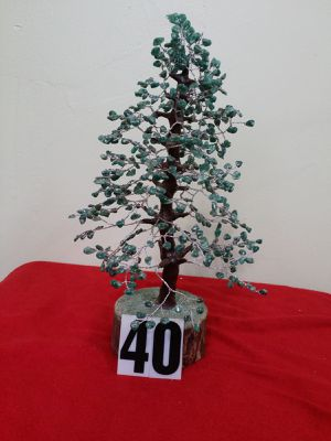 AGATE STONE TREE, GREEN STONE COLOR BIDS. for Sale in Jersey City, NJ