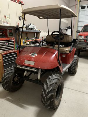 91 lifted ezgo golf cart for Sale in Glendale, AZ