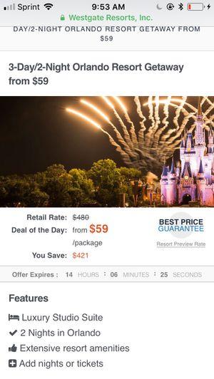 Vacations to Orlando ! for Sale in Manassas, VA