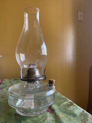 Antique oil lamp for Sale in Sunnyvale, CA