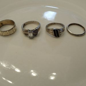 Sterling Silver Ring Lot for Sale in Oklahoma City, OK