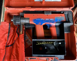 Powder Actuated tool- Hilti DX 451 for Sale in Seattle, WA