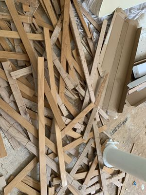 Free flooring board just ripped them out approx 200 ft for Sale in Cary, NC