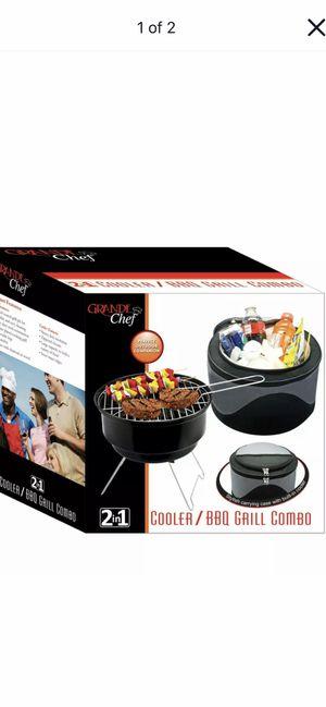 BBQ GRIL. & COOLER for Sale in Hazleton, PA