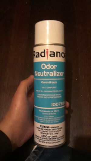 Radiance odor neutralizer for Sale in Fort Worth, TX
