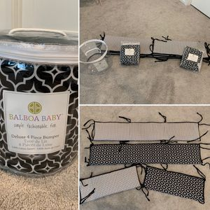 Crib Bumpers, Changing Table Pad, and Crib Skirt for Sale in Rancho Santa Fe, CA