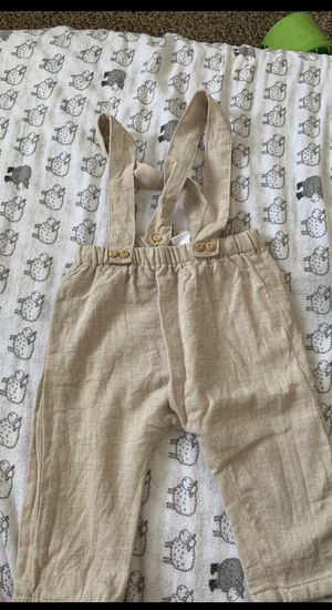 Zara 6-9 month beige baby overalls for Sale in Vancouver, WA