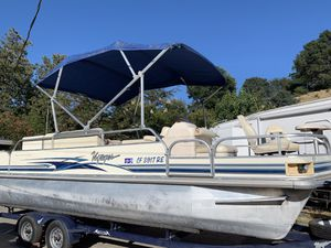 2004 voyager pontoon boat for Sale in Vacaville, CA