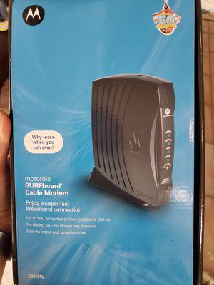 Motorla modem for Sale in Belle Isle, FL