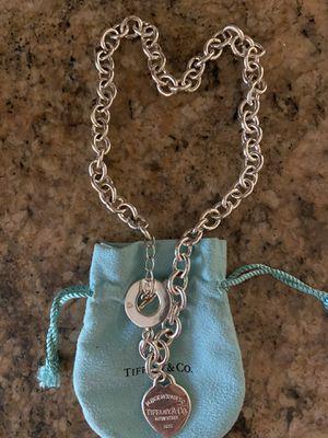 Tiffany necklace-silver for Sale in Boca Raton, FL