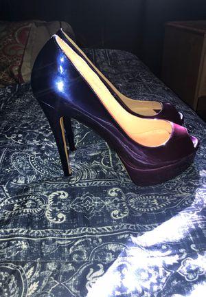 Brand new size 12 Purple Heels for Sale in Sacramento, CA