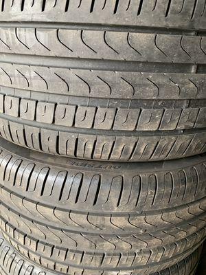 245 40 18 pirelli set of 4 tires for Sale in Manassas, VA