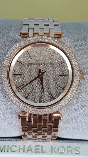 New Authentic Michael Kors Women's Rosegold Bling Face Watch 🎁🎁🎁🎁 for Sale in Montebello, CA