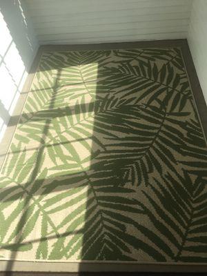 Indoor/outdoor rug for Sale in Davenport, IA
