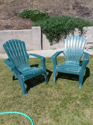Outdoor chairs for Sale in San Dimas, CA