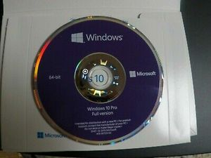 Windows 10 Professional Disk with a valid license key for Sale in Tamarac, FL