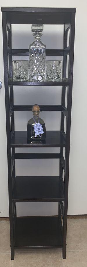 Dark brown shelves for Sale in Arlington, VA
