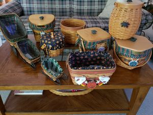 Longaberger Holiday Baskets for Sale in Aloma, FL