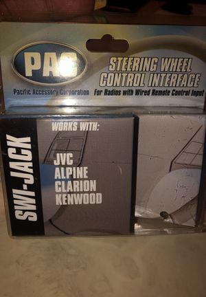 Nvm Alpine Clarion Kenwood steering wheel for Sale in West Palm Beach, FL