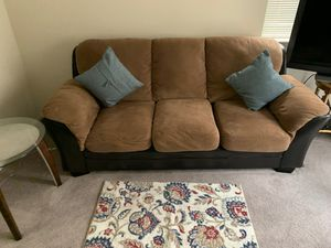 Sofa loveseat and a papa chair 500 take any offers for Sale in Bend, OR