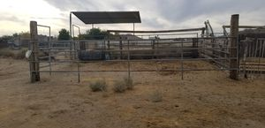 Complete horse corral 20 ×15 you remove it. for Sale in Lancaster, CA