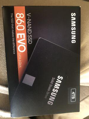 Samsung 860 evo V-NAND SSD 4TB for Sale in Las Vegas, NV